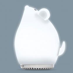 Портативная колонка SmartBuy TALE: МЫШОНОК,  3Вт, Bluetooth, MP3, ночник, мягкий силиконовый корпус (SBS-590)