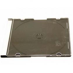 Коробка для 1 CD диска slim 5мм черная