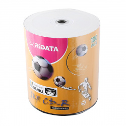 Лазер диск RIDATA CD-R 700Mb 52x Bulk 100 шт. PRINT