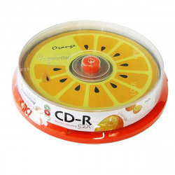 Лазер диск SmartBuy CD-R 700Mb 52x fresh-orange Cake box 10 шт.