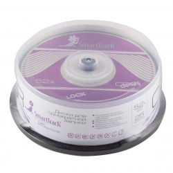 Лазер диск SmartTrack CD-R 700Mb 52x Cake box 25 шт.
