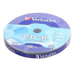 Лазер диск Verbatim CD-R 700МБ 48-52x Bulk 10 шт.