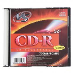 Лазер диск VS CD-R 700МБ 52x Slim PRINT