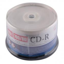 Лазер диск Mirex CD-R 700Mb 48x Cake Box 50 шт. Thermal Print
