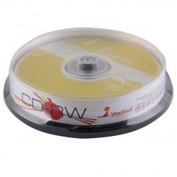 Лазер диск SmartTrack CD-RW 700Mb 4-12x Cake box 10 шт.