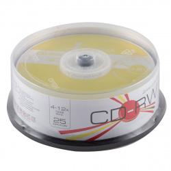 Лазер диск SmartTrack CD-RW 700Mb 4-12x Cake box 25 шт.