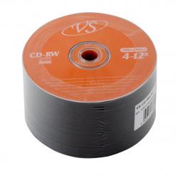 Лазер диск VS CD-RW 700МБ 4-12x  Bull 50 шт.