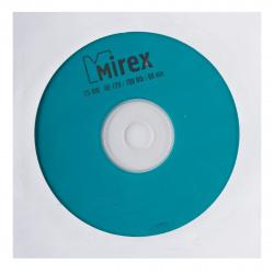 Лазер диск Mirex CD-RW 700МБ 12x конверт