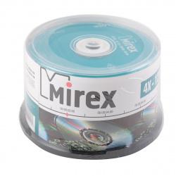 Лазер диск Mirex CD-RW 700МБ 12x Cake box 50 шт.