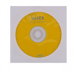 Лазер диск Mirex DVD-R 4.7 Gb 16x Конверт