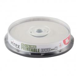 Лазер диск Mirex DVD+R 4.7 Gb 16х Cake box 10 шт. INK PRINT