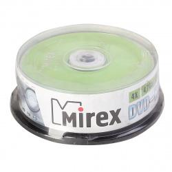 Лазер диск Mirex DVD-RW 4.7 Gb 4x Cake box 25 шт.