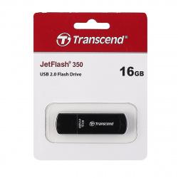 Флеш-память USB 16 Gb Transcend Jet Flash 350 (FD-16Gb/TR350)