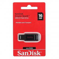 Флеш-память USB 16 Gb SanDisk CZ61 Cruzer Spark, Black