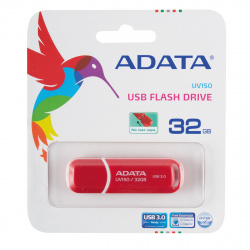 Флеш-память USB 32 Gb A-DATA UV150 USB 3.0 Красный