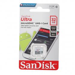 Карта памяти microSDHC Card Ultra 32Gb класс 10 UHS-I 100 MB/s SanDisk