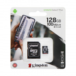 Карта памяти microSDXC 128GB Class 10 UHS-I Canvas Select Plus up to 100MB/s (+SD адаптер) (SDCS2/128GB)