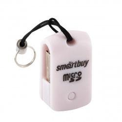 Картридер SmartBuy SBR-706-W USB 2.0 - MicroSD, белый (SBR-706-W)