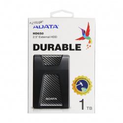 Внешний жёсткий диск A-DATA 1Tb  HD650 USB 3.0 черный