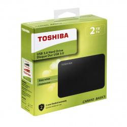 "Внешний жёсткий диск Toshiba 2Tb HDTB420EK3AA Canvio Basics USB 3.0 2.5"" черный"