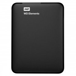 "Внешний жесткий диск Western Digital 2TB  WDBMTM0020BBK-EEUE Elements Portable 2.5"", USB 3.0 черный"