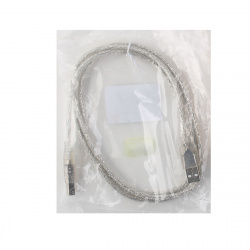 Кабель USB 2.0  A-B 1,5 метра прозрачная изоляция Telecom (TUS6995-1.5M)