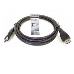 Кабель HDMI 1.4 19М/19М 2 метра, CG501N-2M_810857, TV-COM