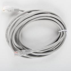 Кабель Patch Cord литой Telecom многожильный UTP кат.5е 3м серый <NA102--3M_307308>