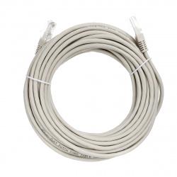 Кабель Patch Cord литой Aopen/Qust UTP кат.5е 5,0м серый <ANP511_5M>