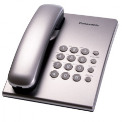 Телефон Panasonic KX-TS 2350 RUS серебро