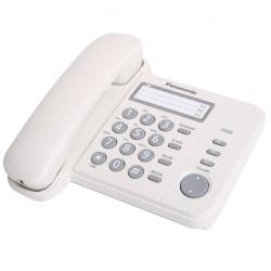 Телефон Panasonic KX-TS 2352 RUW белый