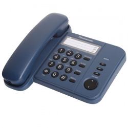 Телефон Panasonic KX-TS 2352 RUС синий