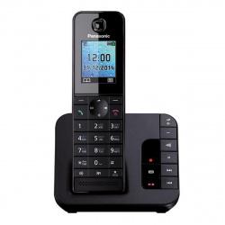 Радио телефон Panasonic KX-TGH 220 RUB ( АОН, подсветка, будил, автоответчик, спикерф, цв.дисплей)