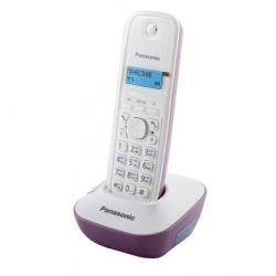 Радио телефон Panasonic KX-TG 1611 RUF (AОН, подсветка, будил, поиск трубки)