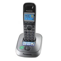 Радио телефон Panasonic KX-TG 2511 RUM (АОН, подсветка дисплея, спикерфон)