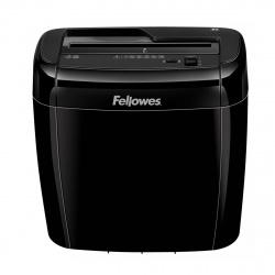 Уничтожитель Fellowes 36С, 6 листов, скобы, скрепки, пласт. карты, 4х40 мм, 12 литров