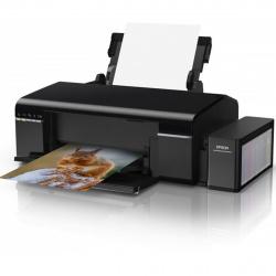 Принтер Epson L805 Фабрика печати {6 цветов, А4, 5760x1440 dpi, 37/38 стр/мин}