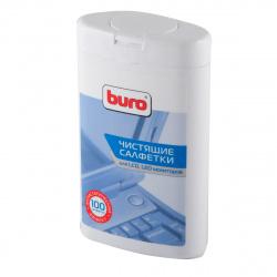 Туба с чистящими салфетками BURO для LCD,TFT-мониторов BU-tft (100 шт.) 817436