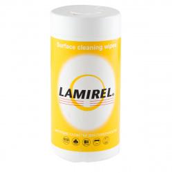 Туба с чистящими салфетками Lamirel для поверхностей (100 шт.) LA-51440