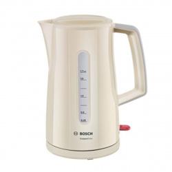 Чайник электрический Bosch TWK3A017 бежевый (1,7л./2400 Вт/диск)