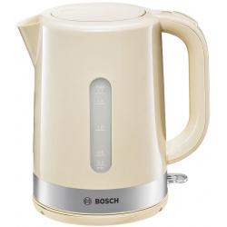 Чайник электрический Bosch TWK 7407 бежевый (1,7л./2200 Вт/диск)