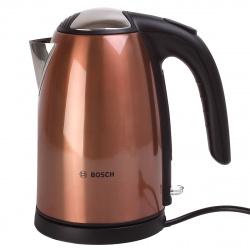 Чайник электрический Bosch TWK 7809 металл, медный (1,7л./2200 Вт/диск)