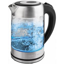 Чайник электрический Scarlett SC-EK27G52 стекло (1,7л./2200Вт)