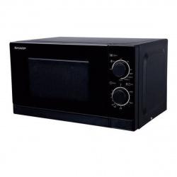 Микроволновая печь Sharp R2000RK (20л, 800Вт,  СОЛО, мех.управление) черный