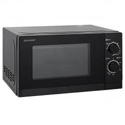 Микроволновая печь Sharp R6000RK (20л, 800Вт,  СОЛО) черный