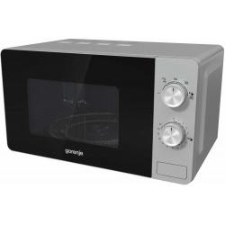 Микроволновая печь GORENJE MO20E1S (серебро) 800W, 20л