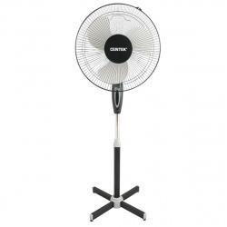 Вентилятор Centek CT-5015 черный 40Вт, 1.25м, 43см, 3 скорости, автоповорот, подсвет