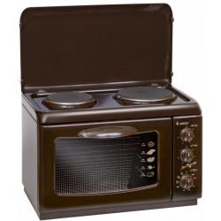 Плита электрическая Gefest ЭП Нс Д 420 К19 коричневый (2 конфорки, 1000Вт)