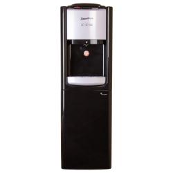 Кулер Aqua Work TY-LWYR33B с  холодильником, черный/серебро, компрессор., напольный