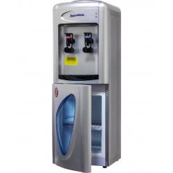 Кулер Aqua Work 0.7LR серебро, компрессор, напольный, шкафчик